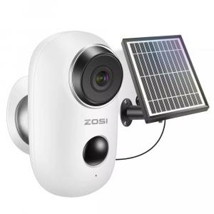 Автономная IP камера WIFI 1080P с солнечной панелью